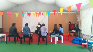 Pipiripao Reunión sobre libros con Félix Albo Feria del Libro de Logroño 2014 (4)