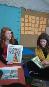 Lectura Lab con cuentos de Aitana Carrasco