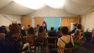 Noche de cuentos con Pep Bruno y Carles García Domingo.